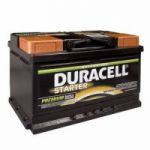 Duracell 652 12v 72ah Car battery - Maiden Electronics Battery Fitment Centre R1566.00
