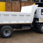 Rubble remover tipping trucks available for hire