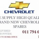Chevrolet Spares Parts - Brand New | High Quality | Affordable Prices - Delivered to your