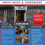 Shop Shop & Hardware 23 Year Existing Business For Sale