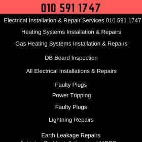 Need an Emergency Electrician or a Emergency Plumber 24*7 No CALL OUT FEE