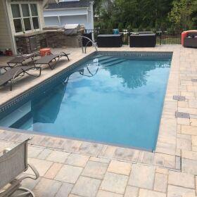 new swimming pool and renovtion